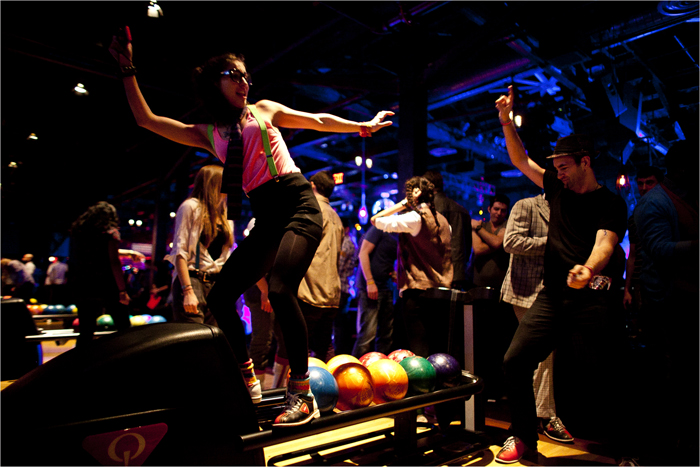 "Brooklyn Music Venue And Bowling Alley Hosts Weekly Soul Train Inspired ""Bowl Train"""