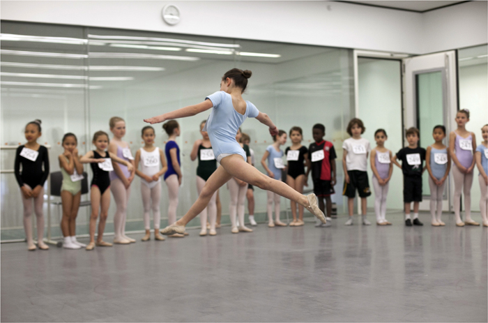 School of American Ballet tryouts