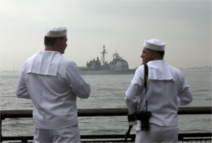 Parade Of Ships Kicks Off Fleet Week In NYC