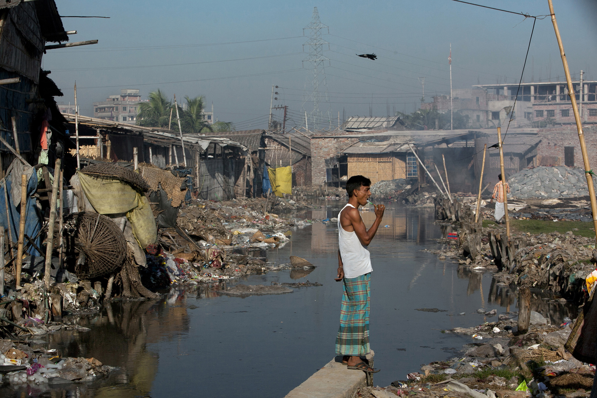 "pollution in dhaka city The river flows by the capital dhaka, a city of 12 million people, which largely depends on the buriganga's ""if the pollution is not."