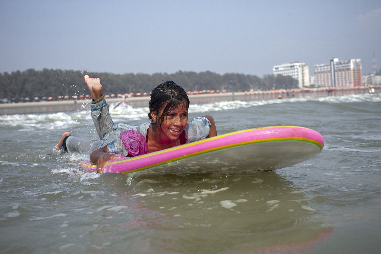 Bangladeshi Beach Vendors Compete In Coxs Bazar Surf Competition