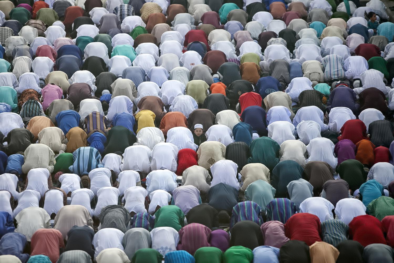 Bangladeshi Muslimes Gather For Eid Al-Adha Celebrations