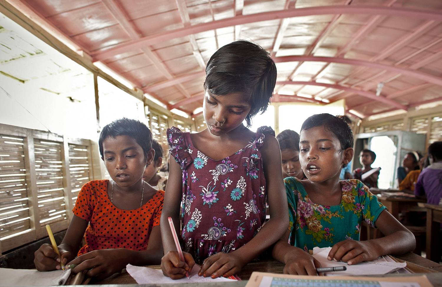 A Floating School, Hospital, & Technology Center Supports Remote Communities In Bangladesh
