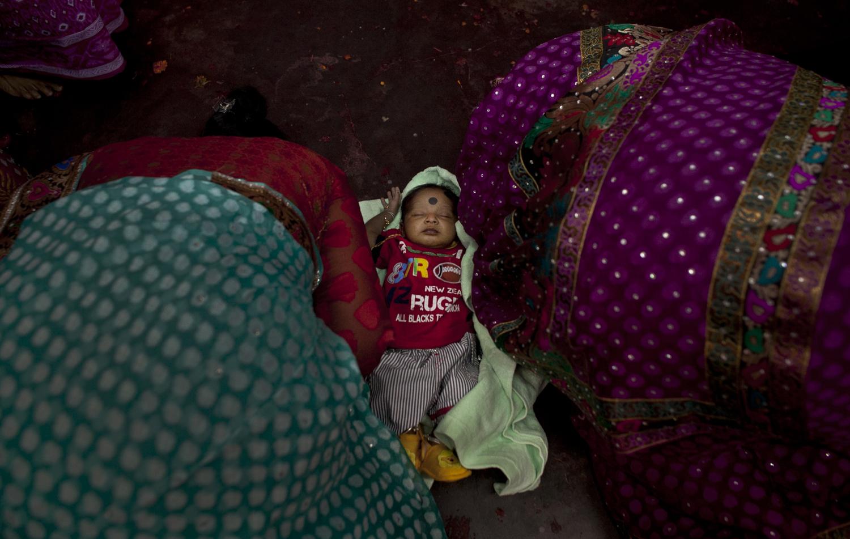 Bangladeshi Hindus Gather For Durga Puja Celebrations