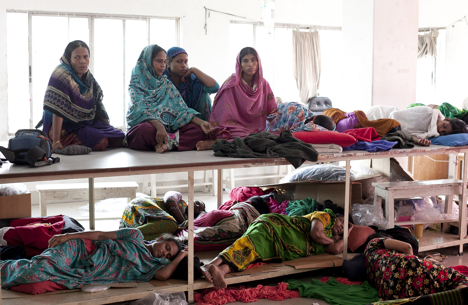 Garment Workers Go On Hunger Strike Over Unpaid Wages
